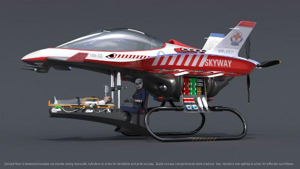 Skyway 60 Second Air Ambulance Spicytec