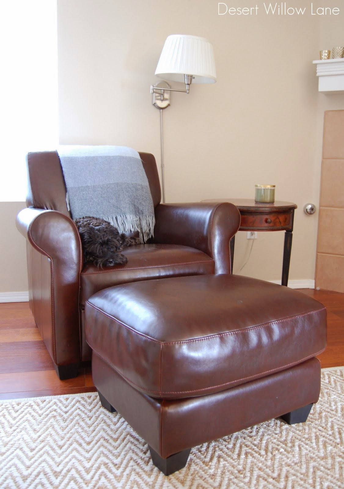 I Found This Leather Club Chair At Overstock. It Is A Little More  Affordable (but Currently Out Of Stock) And I Really Didnu0027t Want To Have To  Buy A New ...