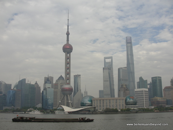 Bund waterfront skyline in Shanghai, China