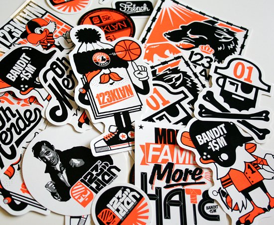 123Klan street art Brobas