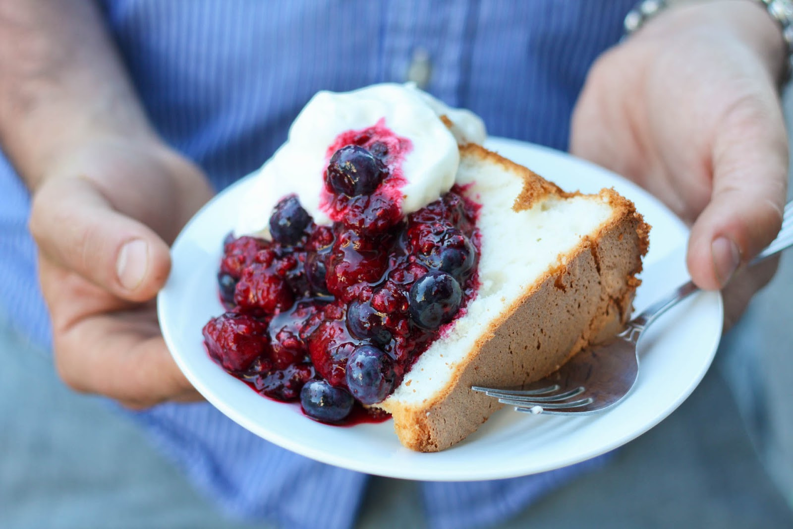 How To Make A Fruit Sauce For Angel Food Cake