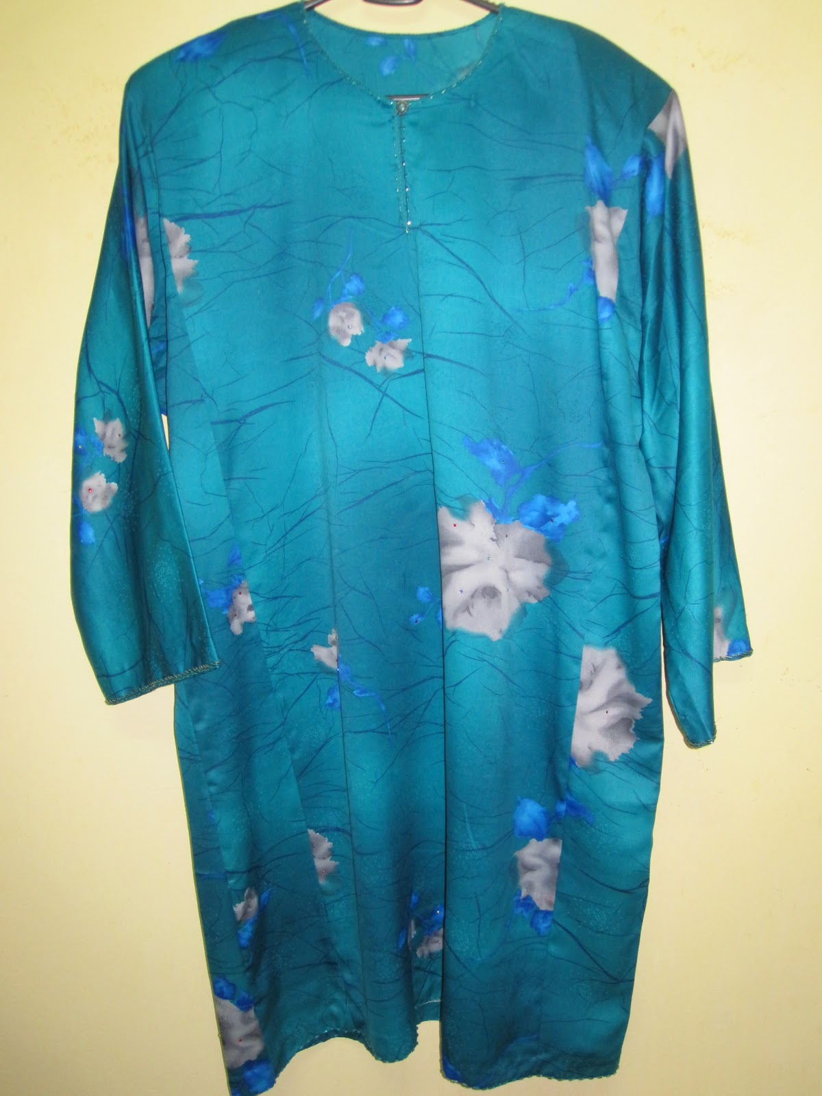 Gambar Baju Kurung 60an