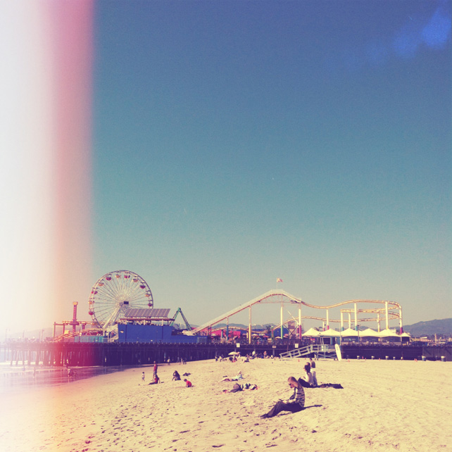 Santa Monica Pier by lesleymyrick on Instagram