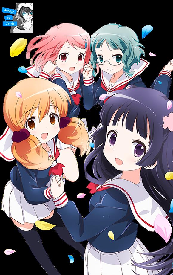 Render Kohashi Wakaba, Mashiba Nao, Tokita Moeko and Kurokawa Mao