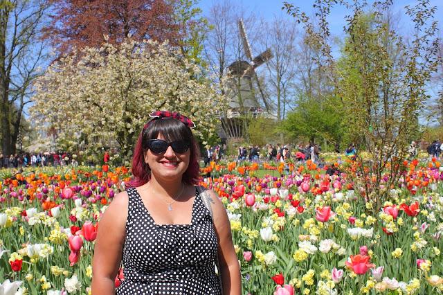 melhor epoca pra ver tulipas na holanda