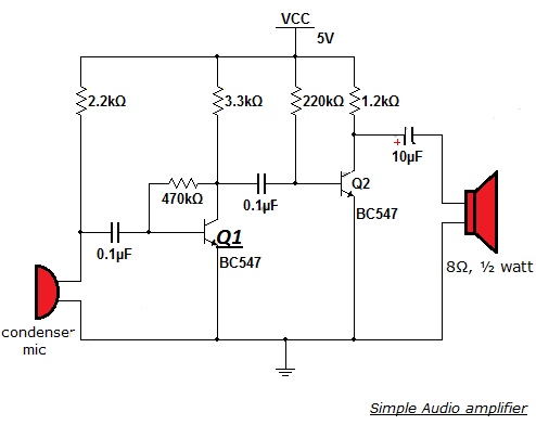 how to make audio amplifier pdf