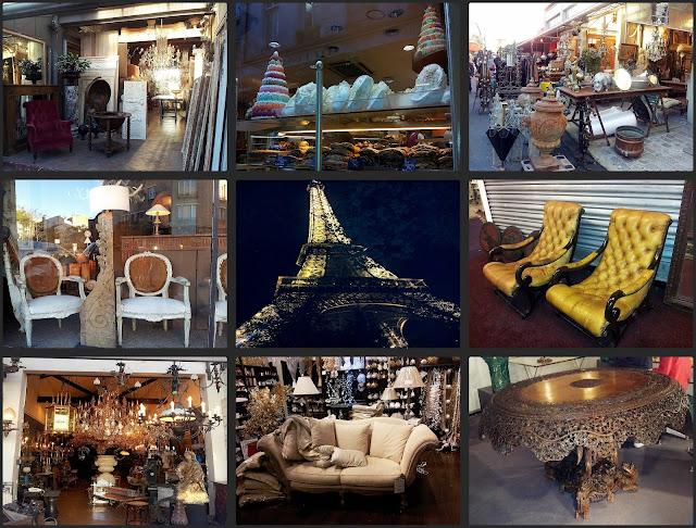 Marché de Saint-Ouen w Paryżu,Maisons du Monde,Paryż targ staroci,antyki w Paryżu,gdzie można kupić tanie meble w Paryu,Polacy w Paryżu,Paris,piękny żyrandol,Paryski styl
