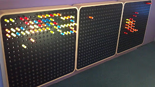 giant three panel lite brite at childrens museum