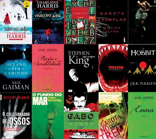 Na estante esse ano somente um desses livros eu li para no ter abandono que foi garota exemplar mas os outros valeram muito a pena e super indico e alguns j tem fandeluxe Choice Image