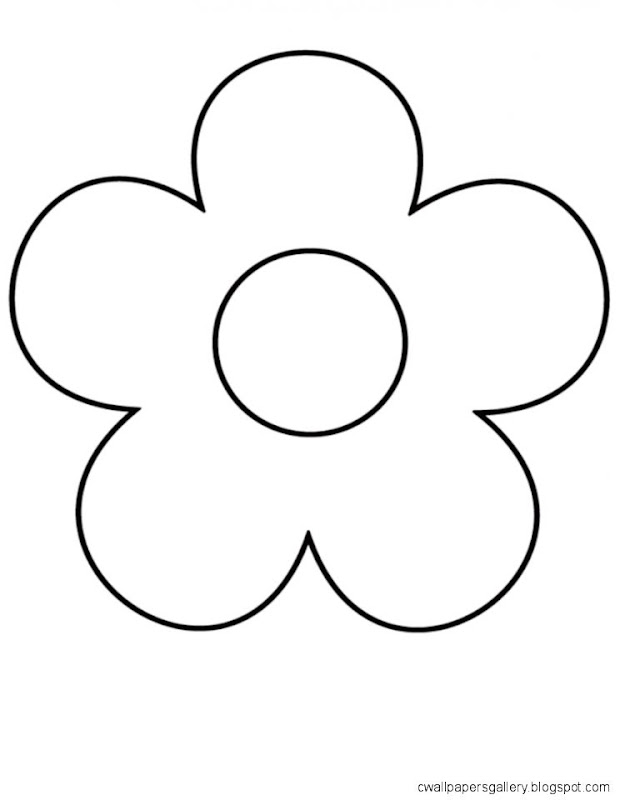 Simple Flower Drawing Background 1 HD Wallpapers  Lzamgs