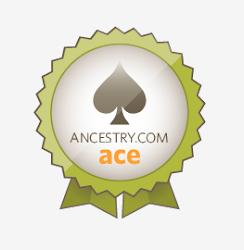I'm an Ancestry.com Ace