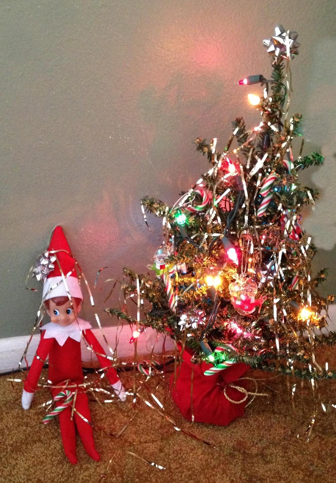 elf christmas tree decoration