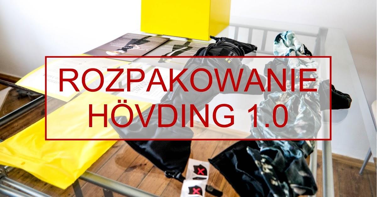 Rozpakowujemy Hovding 1.0