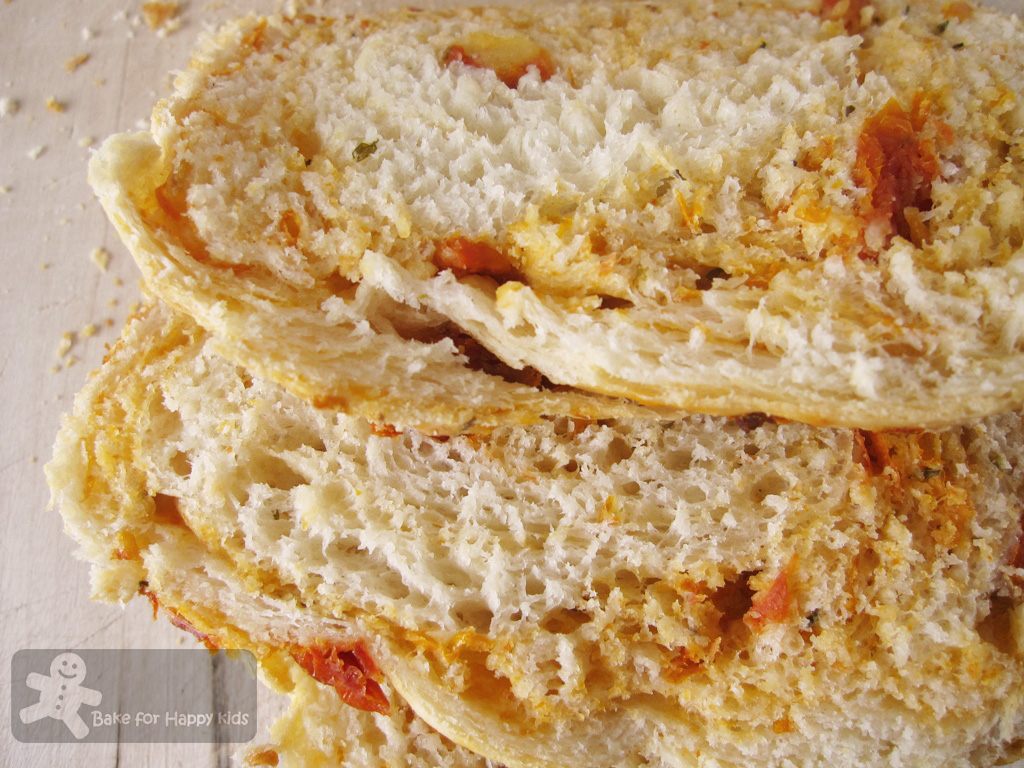 Bake for Happy Kids: Feta and Sun-dried Tomatoes bread