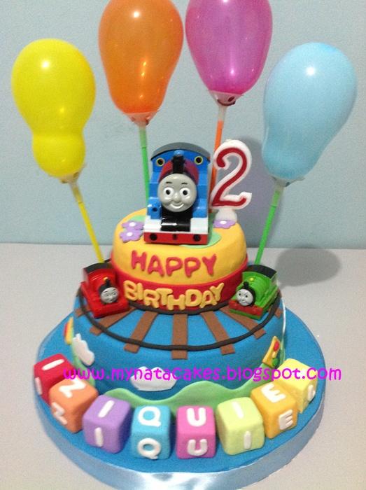 Mynata Cakes Thomas Birthday Cakes For Izi