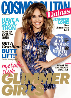 Jennifer Lopez Covers Cosmopolitan Latinas.