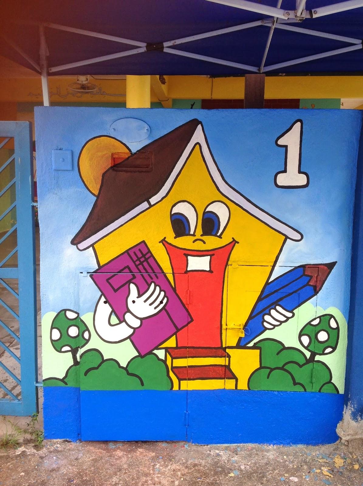Pelukis mural shah alam tadika adwa for Mural sekolah