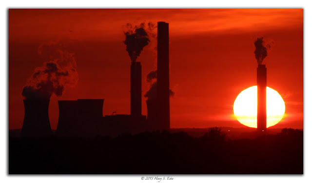 Silhouetted Industry