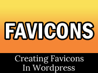 worpress favicon