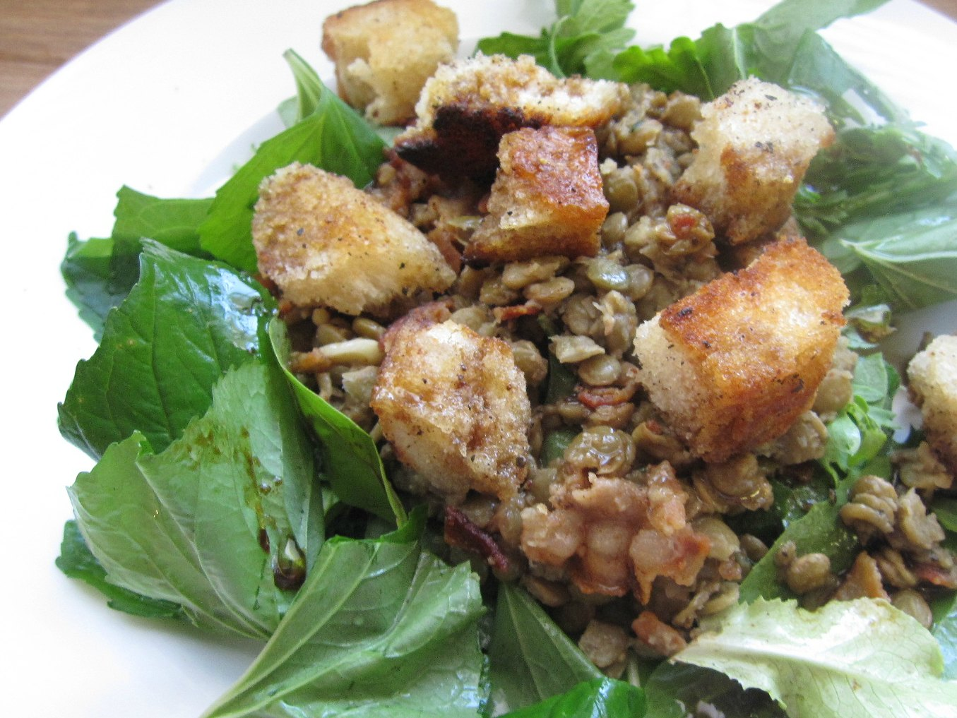 The Scratch Patch: Warm Lentil Salad
