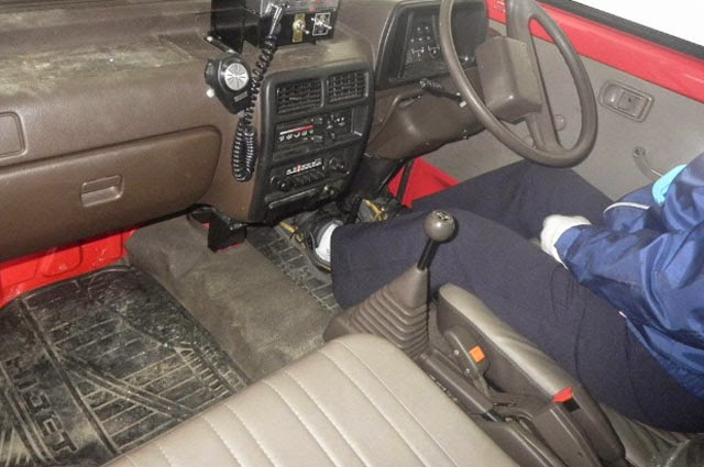 1992 Daihatsu Hijet Fire Engine 4wd For South Sudan To