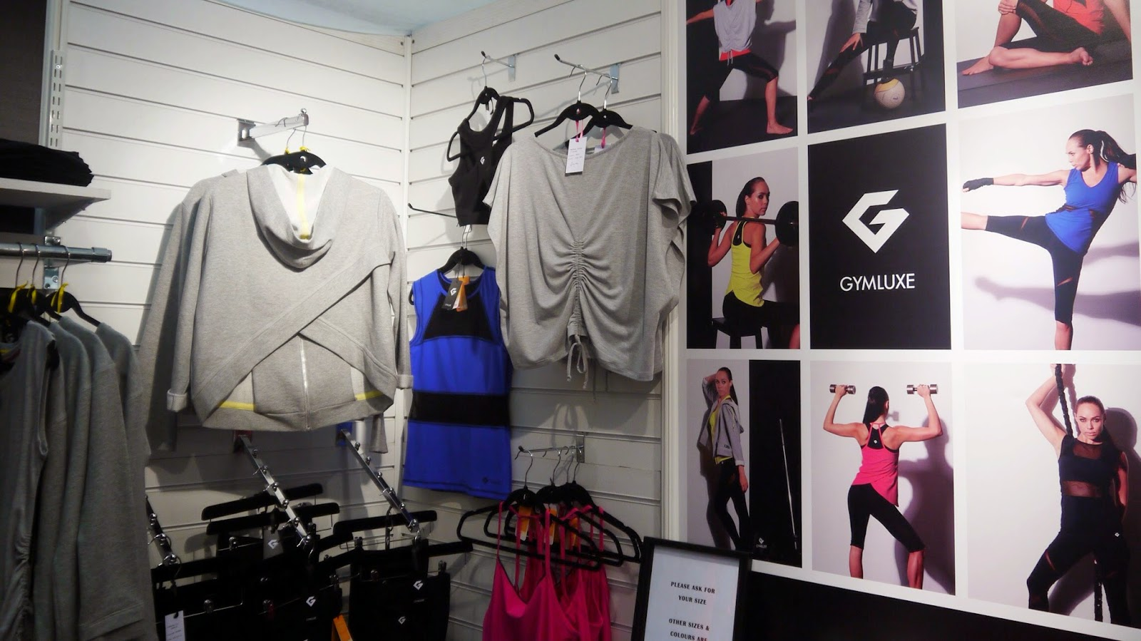 Gymluxe Sports Clothing at Be:Fit London
