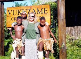 nel villaggio in Sudafrica