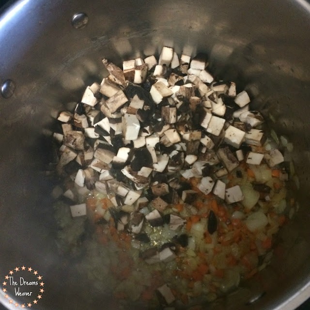 The Dreams Weaver~ Mushroom Barley Soup