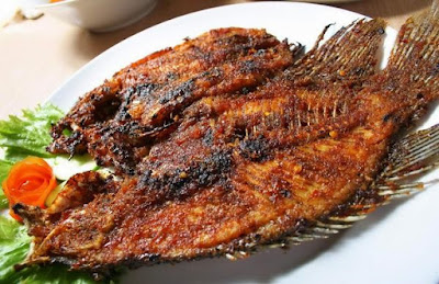 ikan nila bakar paling enak sedunia