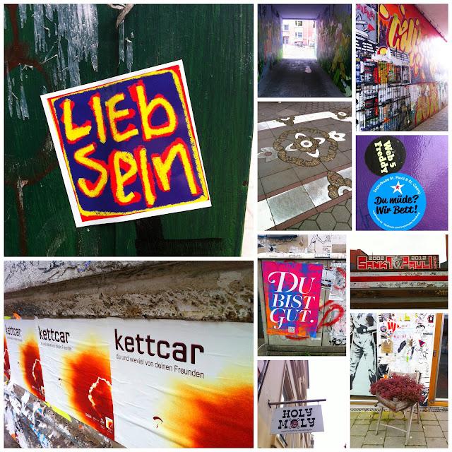 Streetart Collage Hamburg 2