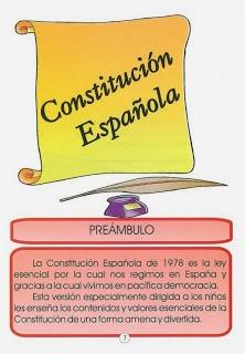 6 DE DICIEMBRE: LA CONSTITUCIÓN ESPAÑOLA