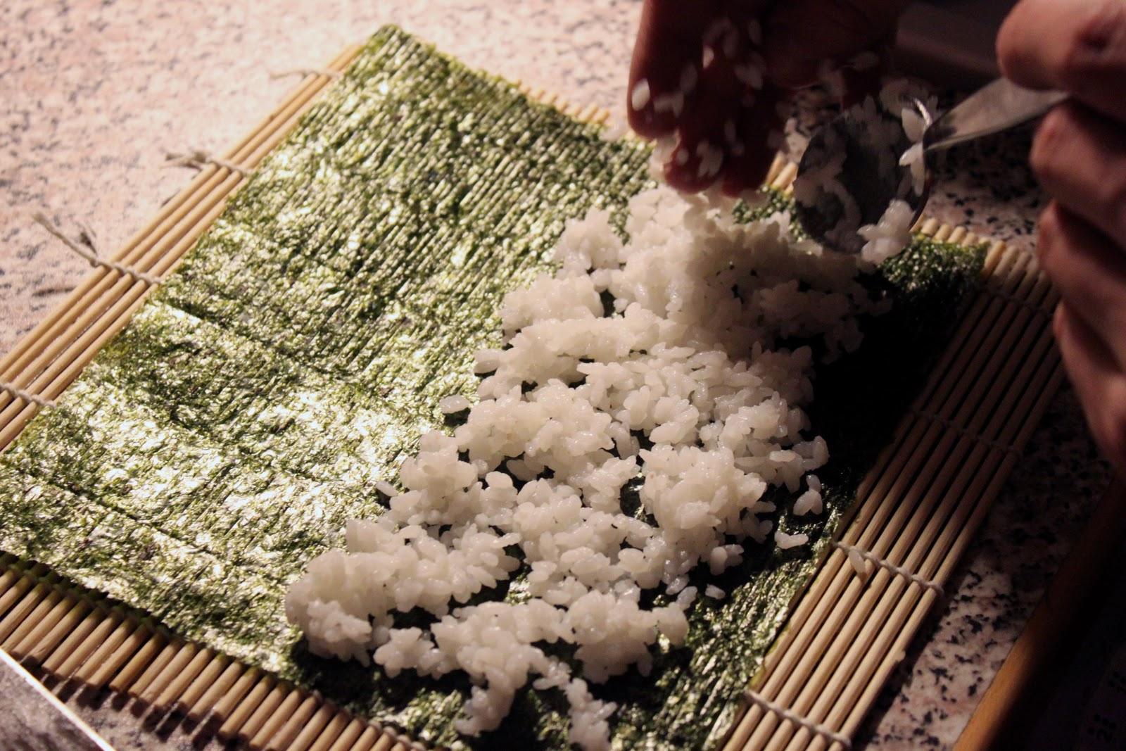 Blue dragon sushi paketti