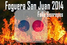 Fotos foguera San juan 2014