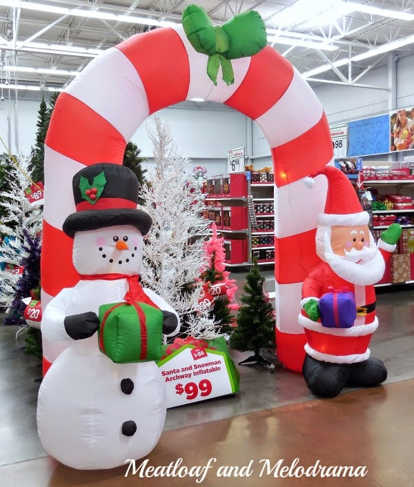 christmas decorations at walmart