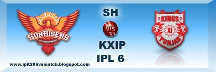 SH vs KXIP IPL 6 Records and Live Streaming Video