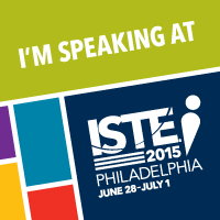 Join me at ISTE 2015!