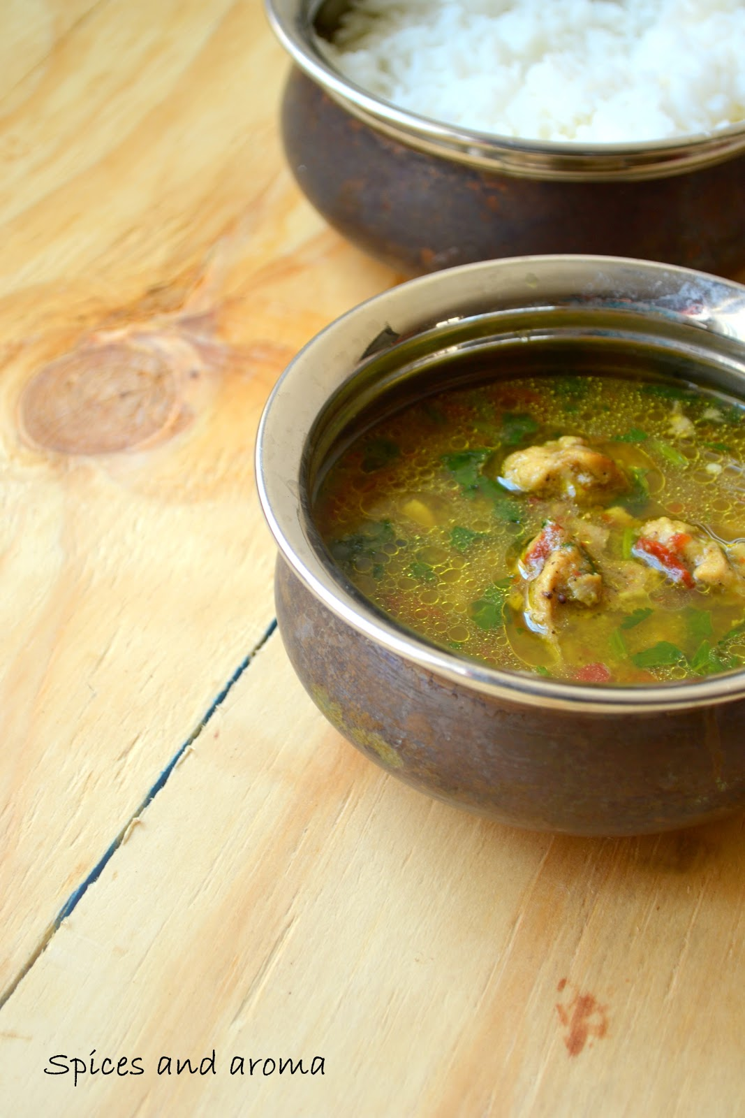 Chicken rasam a south indian soup spices and aroma cook forumfinder Images
