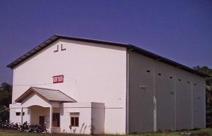 gedung pernikahan GOR YASFI kampung sawah bekasi