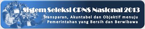 Persyaratan Pendaftaran CPNS 2013