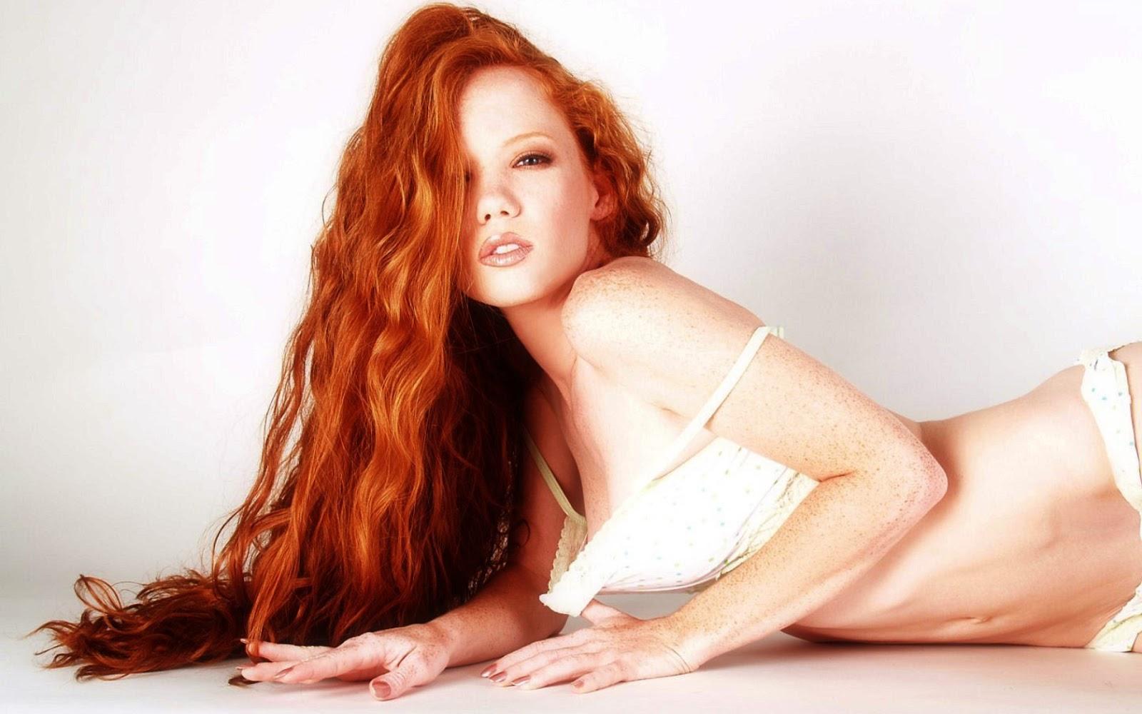 Irish Girl With Long Red Hair Hot Girls Wallpaper