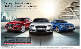 Audi car offers 2015