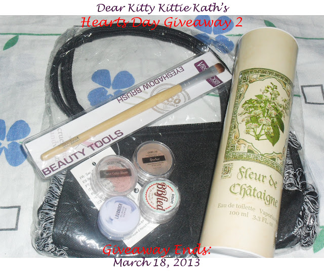 Dear Kitty Kittie Kath's Hearts Day Mini Giveaway 2