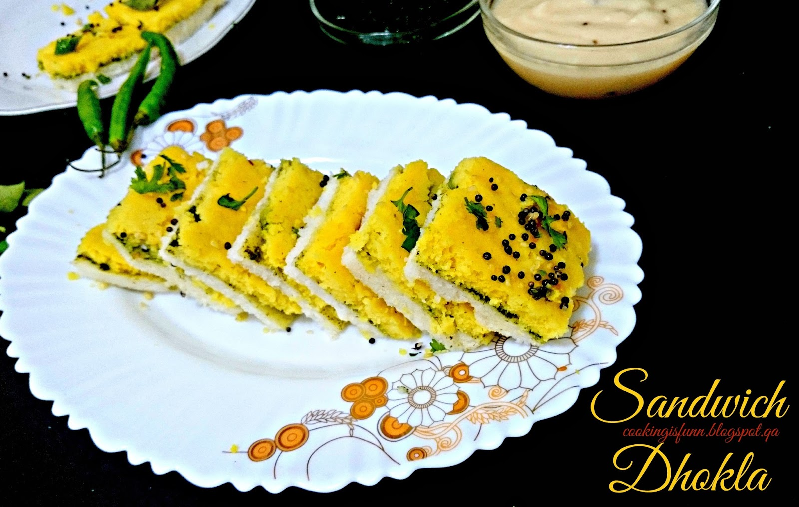 how to make dhokla flour in hindi