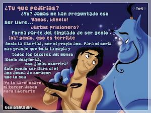 Genio y Aladdín.