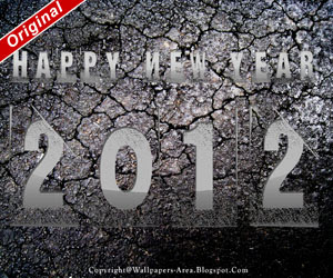 Free Download Happy New Year 2012 Cracked Wallpapers