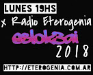 LUNES 19HS X ETEROGENIA RADIO DESDE EL CCEC... ESLOK3AI 2018 ;)7