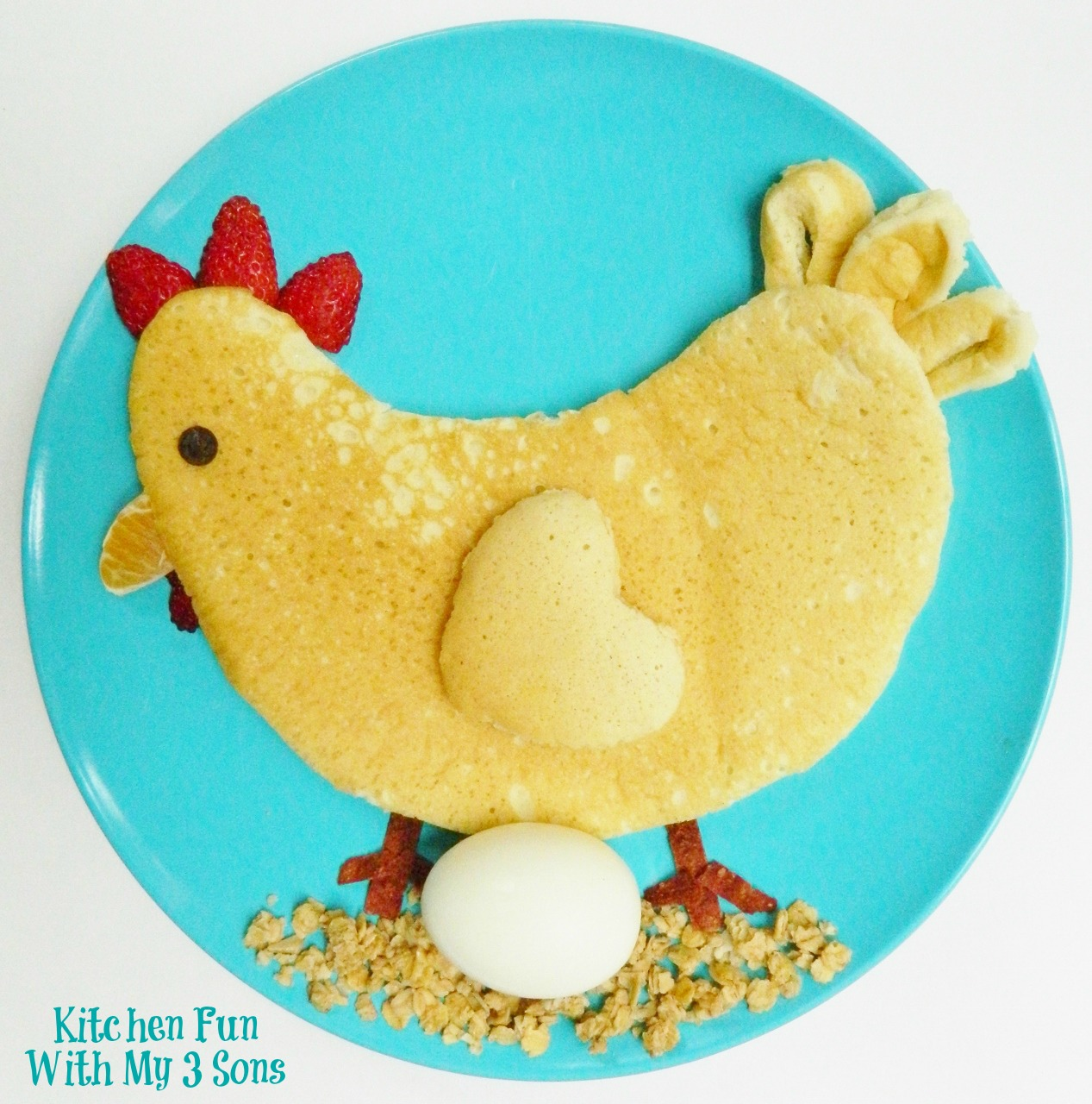 chicken pancakes by Kitchen Fun with My 3 Sons