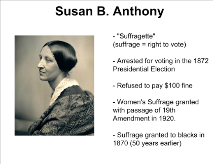 the use of hypophora pathos and logos in the speech womens right to vote by susan b anthony Go here for more about susan b anthony's speech on women's right to vote it follows the full text transcript of susan b anthony's speech on women's right to vote, delivered at various locations in the state of new york - 1873.