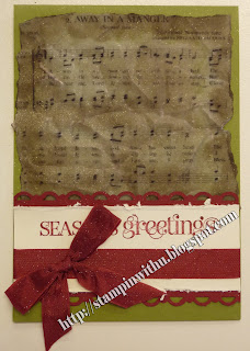 Musical Christmas Card - Away in a Manger