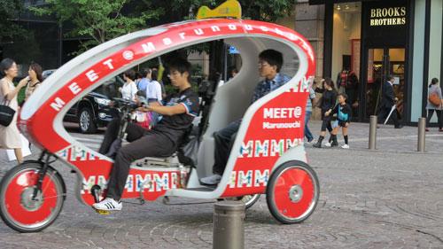 Velo Taxi Tokyo, Japan